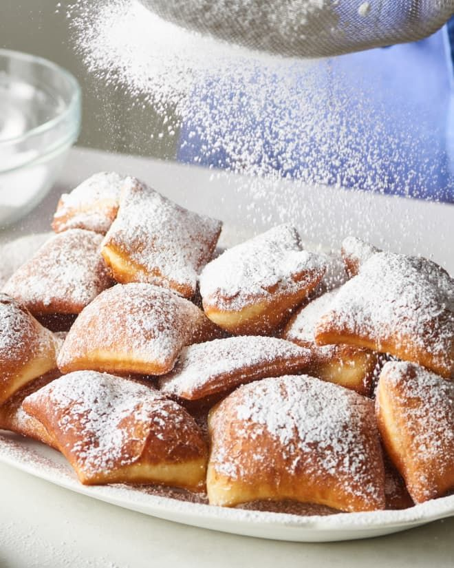 These New Orleans Style Beignets Will Transport You To The French Quarter Recipe Beignets Beignet Recipe Bread Dough