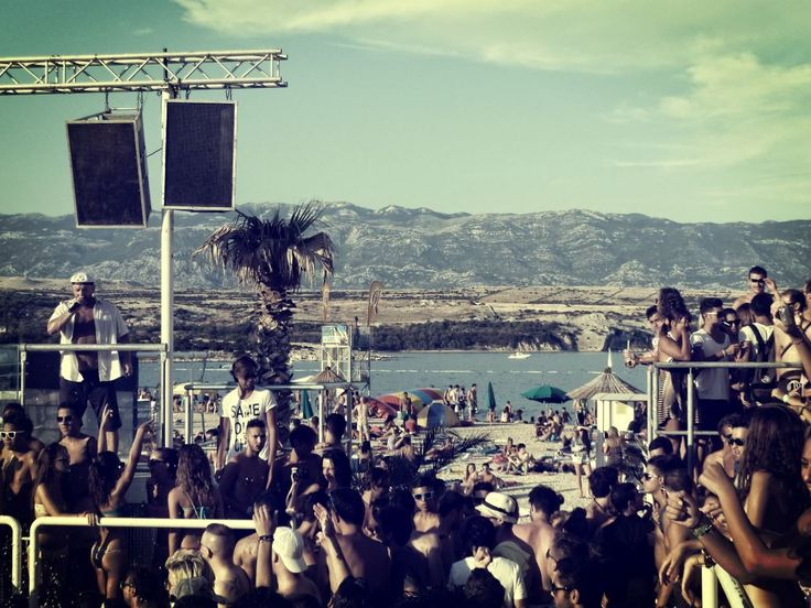 Zrce Beach #zrce #novalja #pag