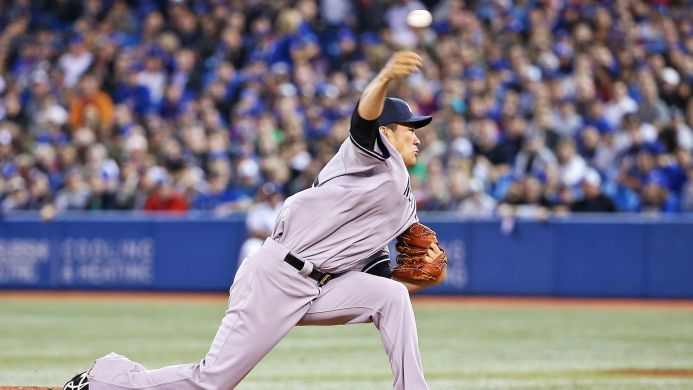 Masahiro Tanaka gives up home run on just third pitch of his MLB debut