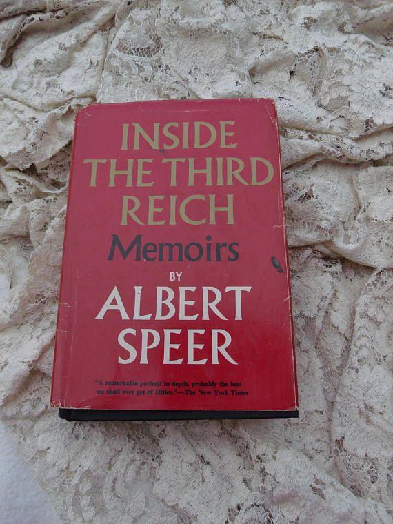 Inside The Third Reich  Memoirs by Albert Speer  Vintage