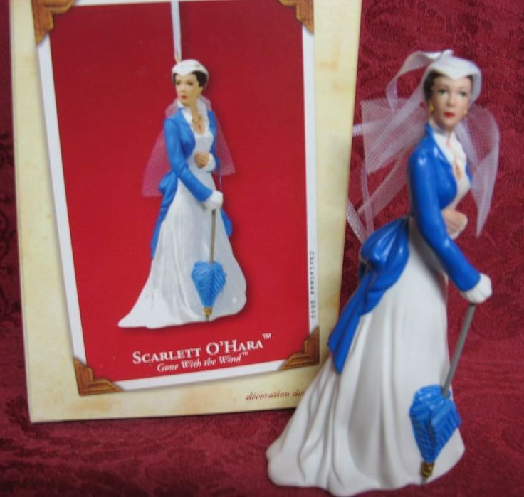 24 best gone with the wind hallmark ornaments images on