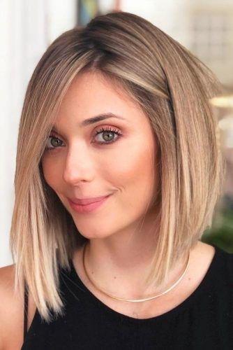 33 Styling Ideen Fur Mittellange Frisuren Frisuren Pinterest