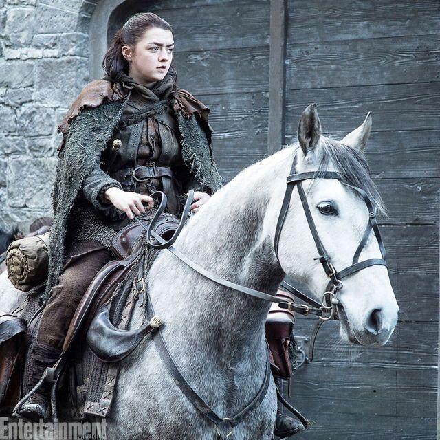 Arya Stark, Maisie Williams, Game of thrones characters