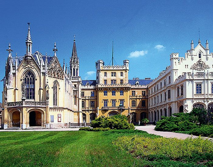 Zámok Lednice - Česká republika
