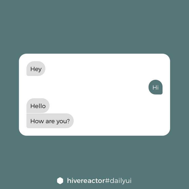 #DailyUI #013. Some messages. #design #ui