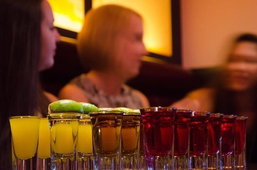 Start your Saturday night off right with food and drinks at Ming Asian Bistro & Bar. #yyc #Calgary #yycfood #yyceats