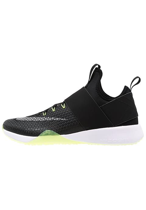 Nike Performance AIR ZOOM STRONG - Scarpe da fitness - black/white/dark grey/volt - Zalando.it