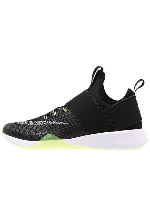 Nike Performance AIR ZOOM STRONG - Scarpe da fitness - black/white/dark grey/volt - Zalando.it