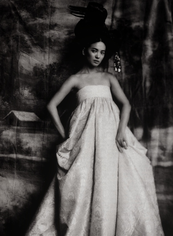 Song Hye Gyo in Vogue Korea June 2007 by Paolo Roversi