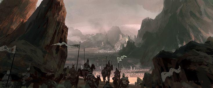 Воины Горы Скалы Всадники