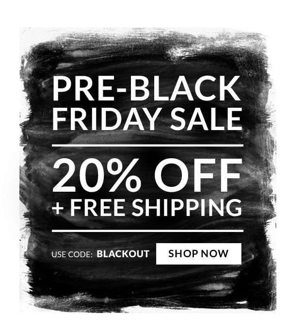 Black friday sale newsletter design