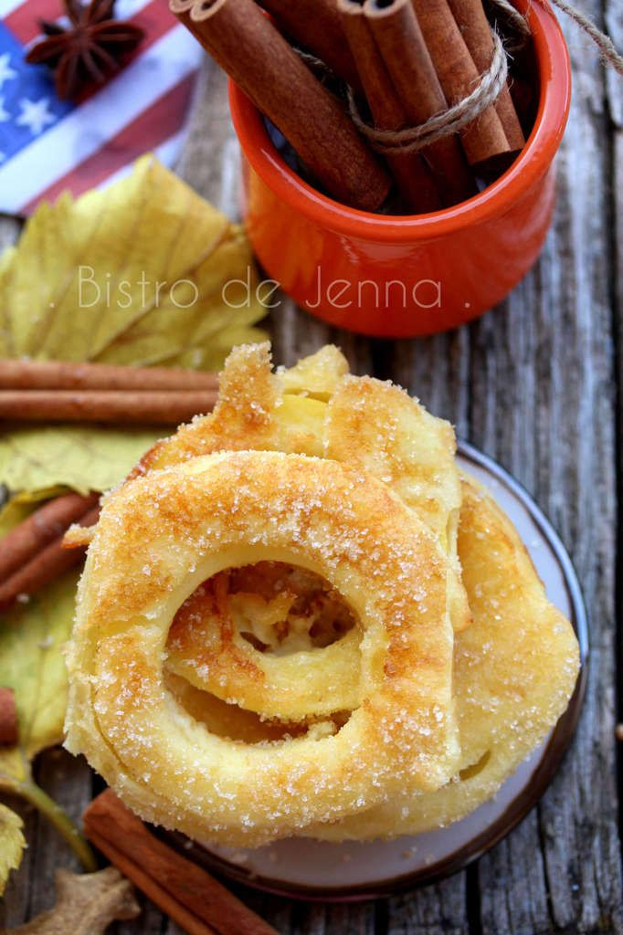 Apple Rings - rondelles de pomme à la cannelle