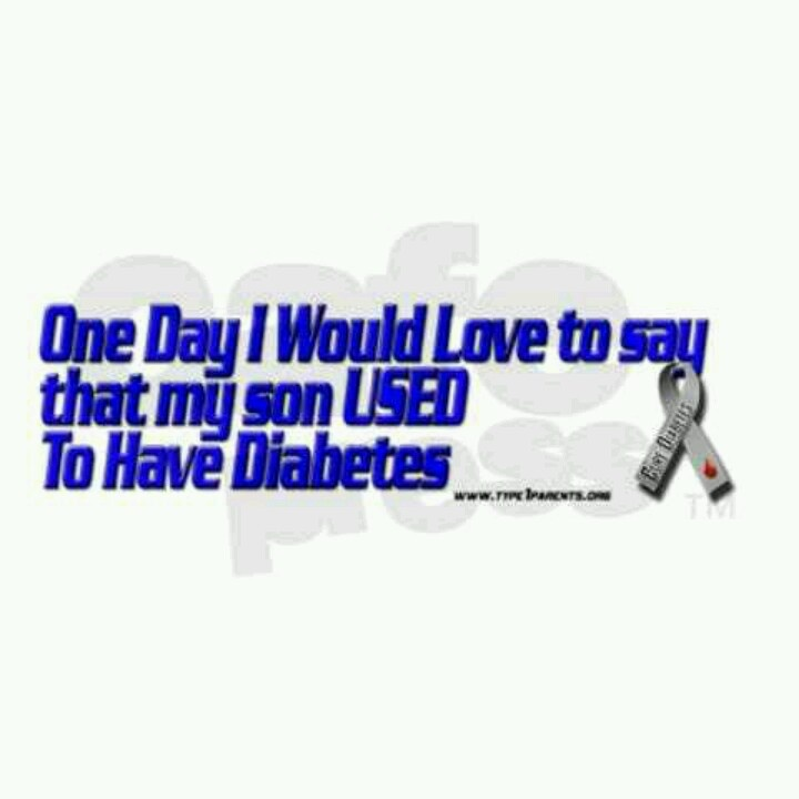 Hoping searching for a cure soon find this pin and more on type 1 diabetes