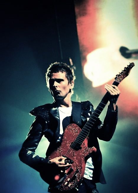 Matt Bellamy has some interesting guitars, that's for sure.