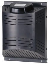 Dog House Heater ($99.00)  The newly designed thermostaticly controlled  Dog House Heater features an incredibly long life, and a fan for cooling in the summer months.  The 200W heater features an internal fan to safely distrubute heat and ensure that the box will never overheat.