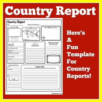 country report Explore robert robinson's board country reports on pinterest | see more ideas about country report project, geography and teaching ideas.