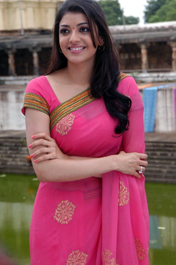 kajal agarwal in saree facebook - Google Search | saree ...