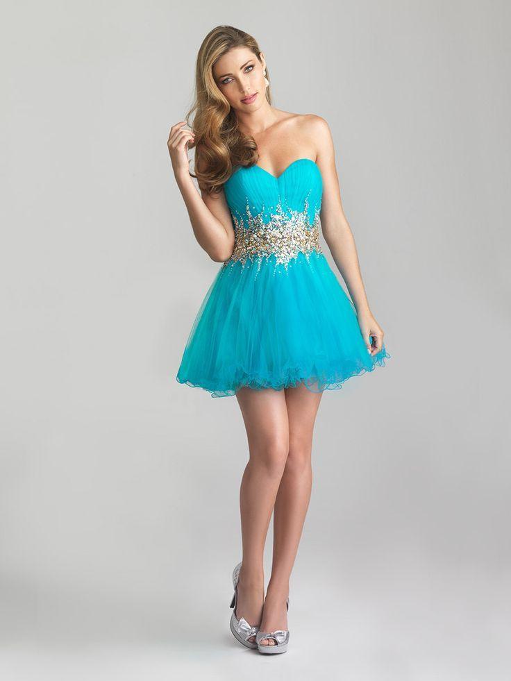 Nice Prom Dresses vestidos cortos de graduacion azul turquesa - aVestidos.com Check more at http://24store.ml/fashion/prom-dresses-vestidos-cortos-de-graduacion-azul-turquesa-avestidos-com/