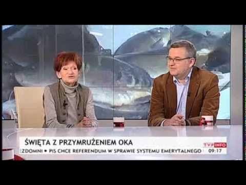 Maria Czubaszek i Artur Andrus w TVP Info o Bożym Narodzeniu (TVP Info, ...