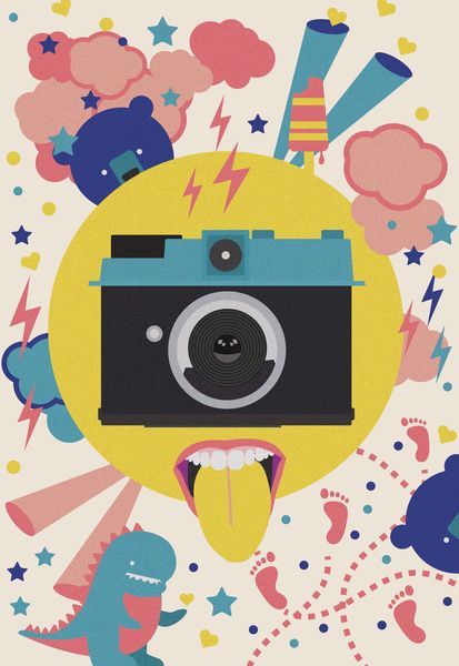 having too much fun to take pictures Art Print by Nicole Martinez | Society6