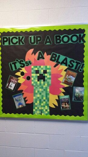 Minecraft bulletin board
