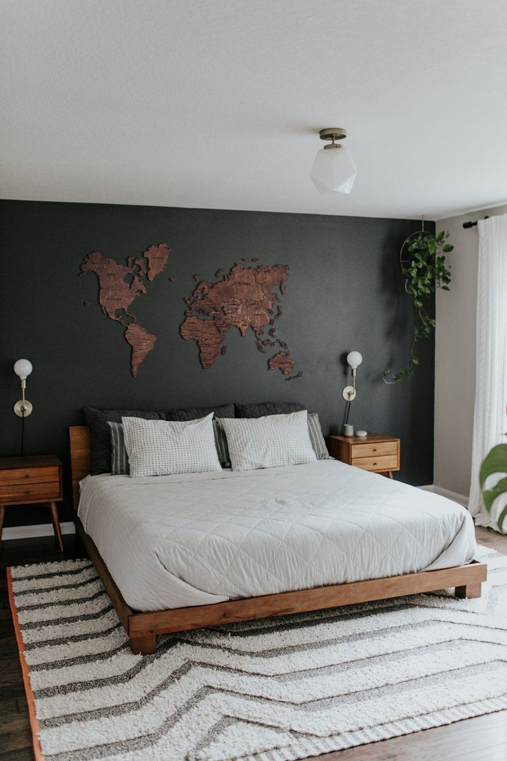Wood Wall Art Holiday Decor World Map The Office Wall Art  Etsy
