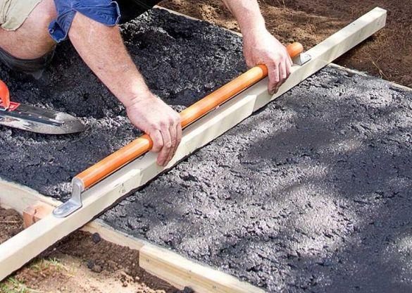 размягчения бетона