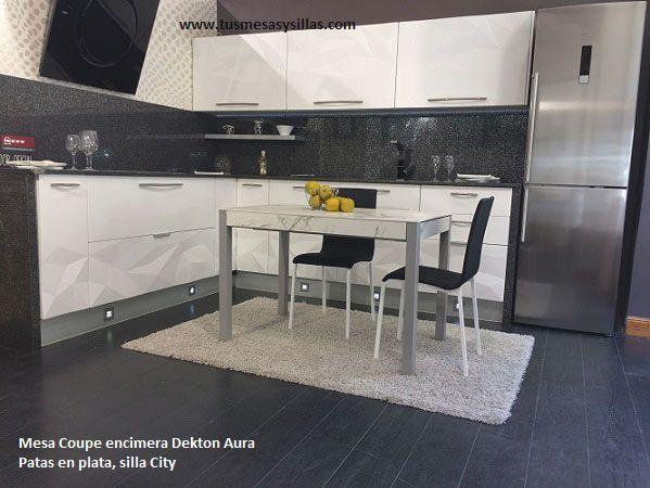 15 best images about mesa de cocina fija o extensible de - Mesa de cocina extensible cancio concept blanco ...