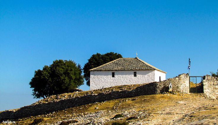 Kastro, village of Greek island Thassos. Find more --> http://bit.ly/tuktukkastro