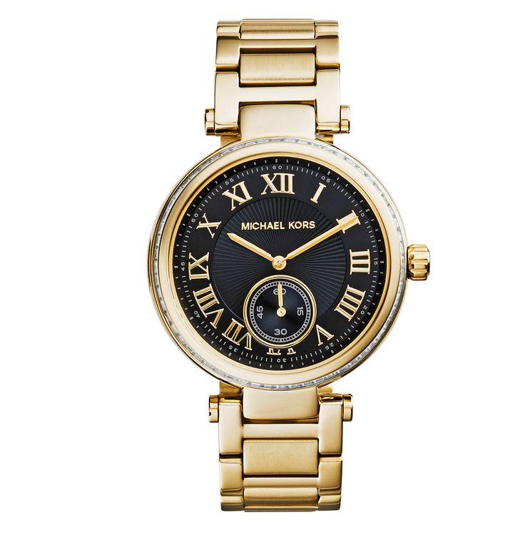 Montre Femme Nelly.com, achat Skylar Michael Kors Watches - Bleu/Or prix promo Nelly.com 349.95 €