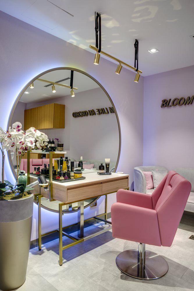 Pin By Blasonspaequipment On Easy Ideas Beauty Salon Decorating Beauty Room Decor Salon Interior Design Salon Suites Decor