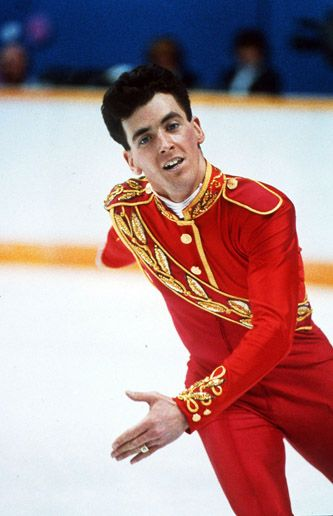 Brian Orser, silver medalist in men's singles figure skating at both the 1984 Winter Olympics in Sarajevo, Yugoslavia, and 1988 in Calgary.
