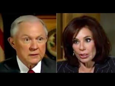 ITS ON! Judge Jeanine Pirro goes BEAST MODE on JEFF SESSION. Take a look