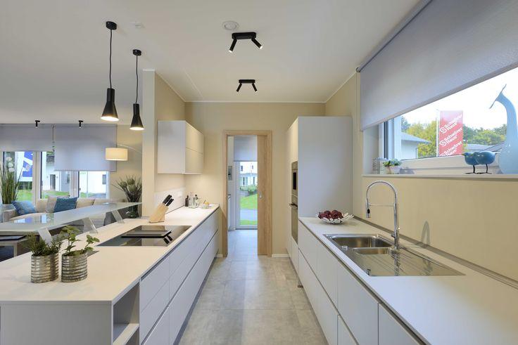 die besten 25 offene wohnk che ideen auf pinterest offene k che wohnk che und scheunenk che. Black Bedroom Furniture Sets. Home Design Ideas