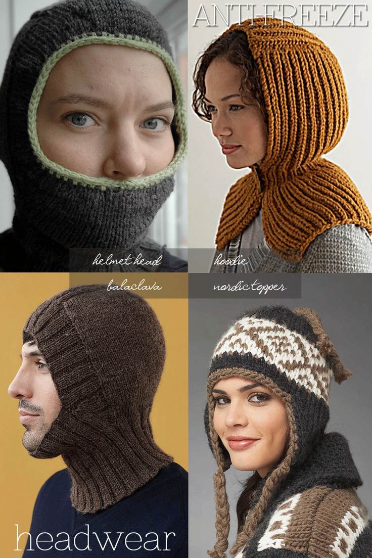 85 best balaclava images on pinterest knit stitches free keeping your head warm balaclavas and other headgear free patterns bankloansurffo Images