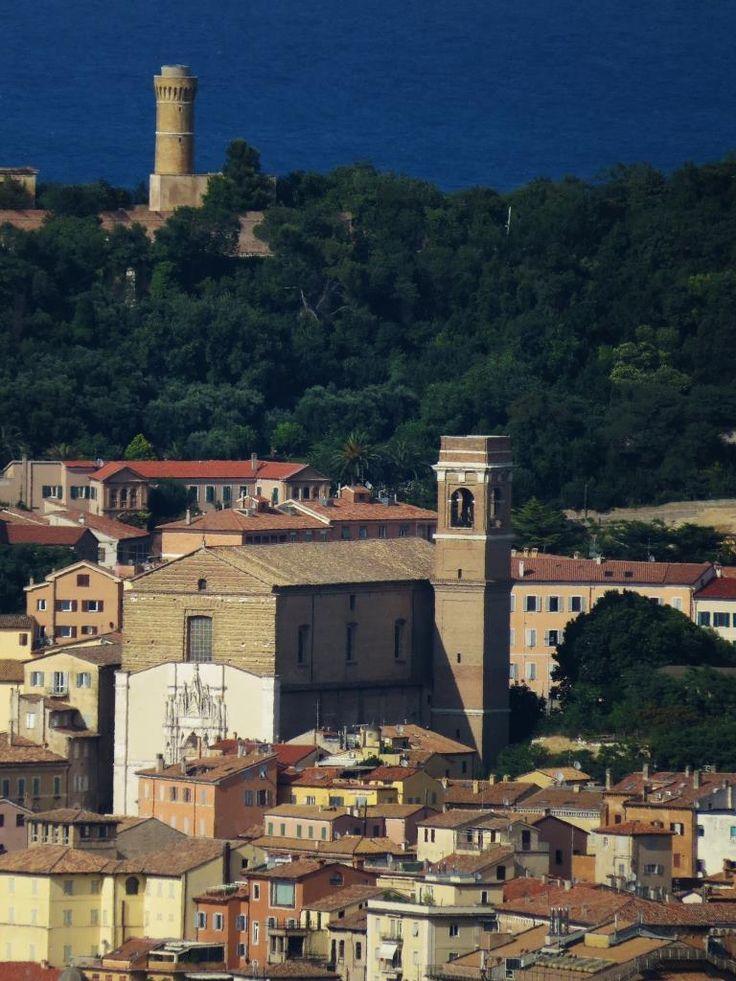 Ancona, Marche, Italy - Scorcio, San Francesco alle Scale e Faro - by Gianni Del Bufalo