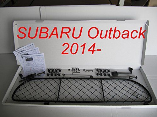Dog Guard Pet Barrier Net and Screen RDA65S14 for SUBARU Outback car model produced since 2014 for Luggage and Pets * Click on the image for additional details.