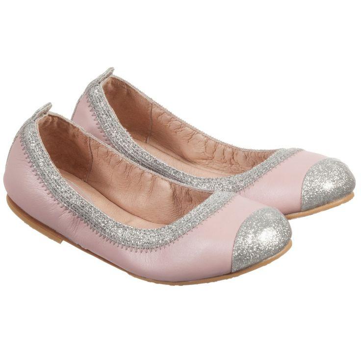 Cha Cha zapatillas Bloch piel, color rosa, Rosa (rosa), 20
