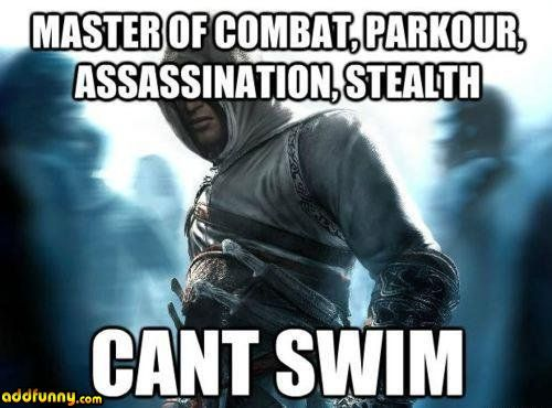 the only reason i dont like playing as him versus ezio lol