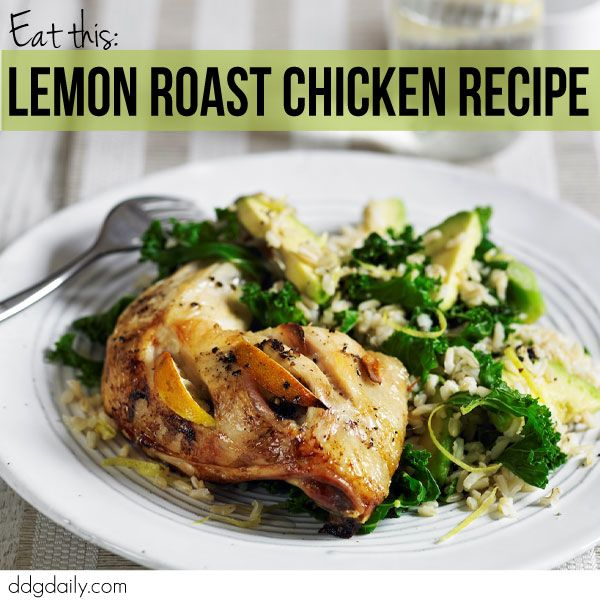 Eat this: Rosie Huntington-Whiteley's Lemon Roast Chicken recipe