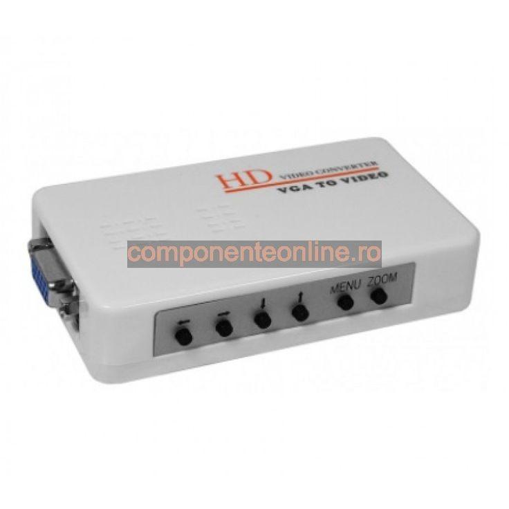 Convertor semnal video, VGA - AV - 103319