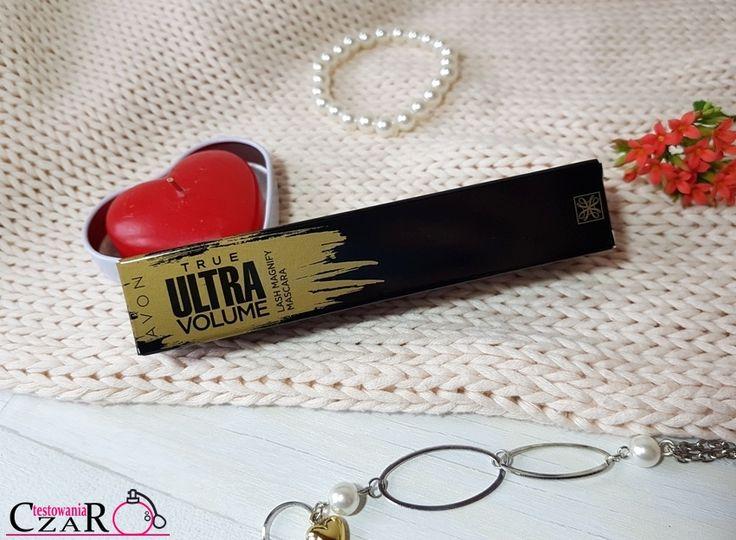 testowaniaczar: Tusz do rzęs ULTRAobjętość - Avon True Ultra Volum...