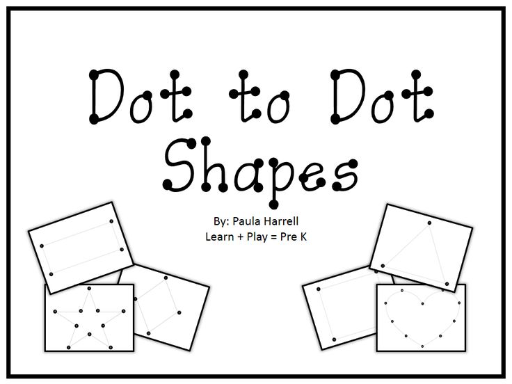 FREEBIE!   Shape drawing practice.   Learn + Play = Pre K