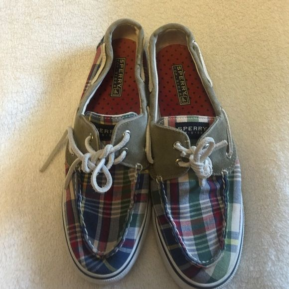 Sperry top sider Plad sperry top sider shoes size 9 Sperry Top-Sider Shoes Flats & Loafers
