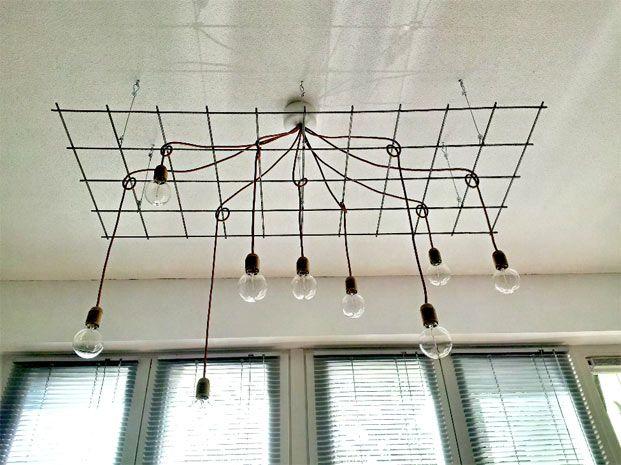 DIY: de industriële hanglamp van Jerry en Jeroen - Roomed