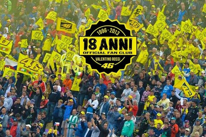 2013 : Valentino Rossi Fan Club