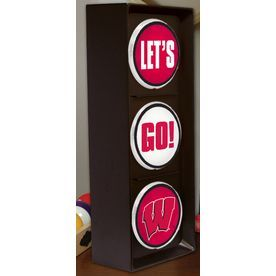 The Memory Company 16-In Wisconsin Badgers Light Col-Wis-894