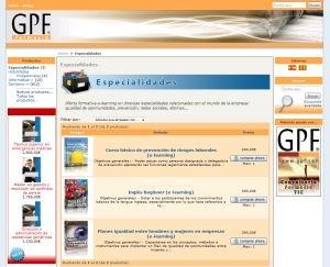 Botiga virtual de cursos online