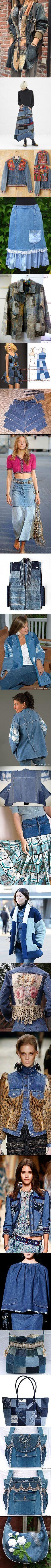 Поиск на Постиле: джинсовые переделки