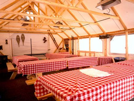 17 best images about canvas cabins on pinterest ontario for Canvas platform tents